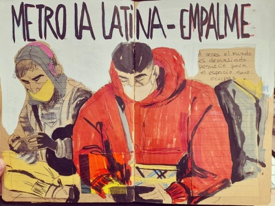 Metro Latina illustration