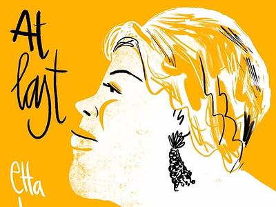 Etta James illustration