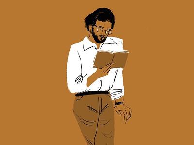 Professor illustration