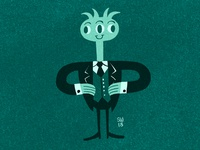 Monsters in Suits #26