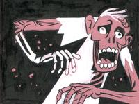 Inktober Zombie