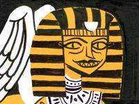 Inktober Sphinx