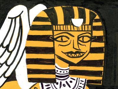 Inktober Sphinx inktober sphinx