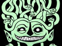 Inktober Medusa