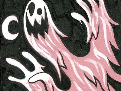 Inktober Ghost ghost