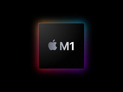 Apple chip M1 - Sketch File freebies