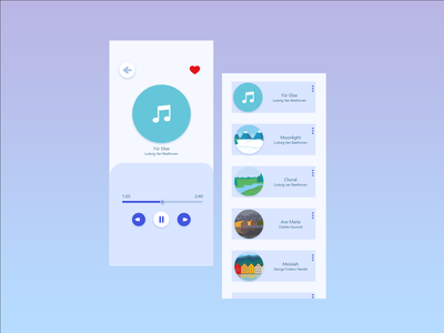 Classic ahead of time:) music 009 vector ux illustration ui dailyui design
