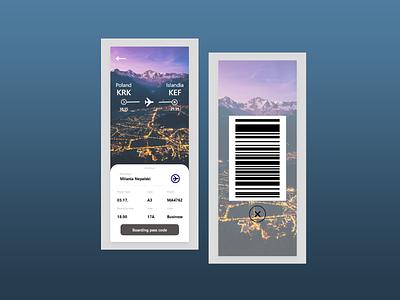 Plan your trip :) travel flight app boarding pass boarding 024 app illustration ui dailyui design