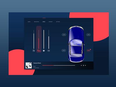 Car Interface carinterface car 034 vector illustration dailyui design
