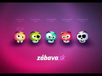 musHrooms / secondary brand elements of Zabava.sk