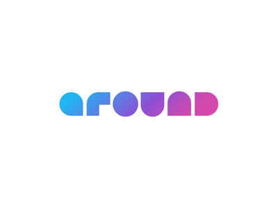 Around Logo / Animated version animation logo branding design