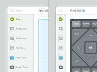 Interface of Interface Editor