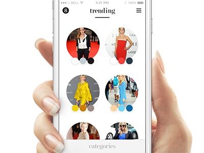 Dejamoda / Trending Outfits mobile application dejamoda fashion iphone computer vision