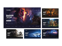 Y games web landing pages