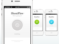 ShoutFlow / Splash + Loading