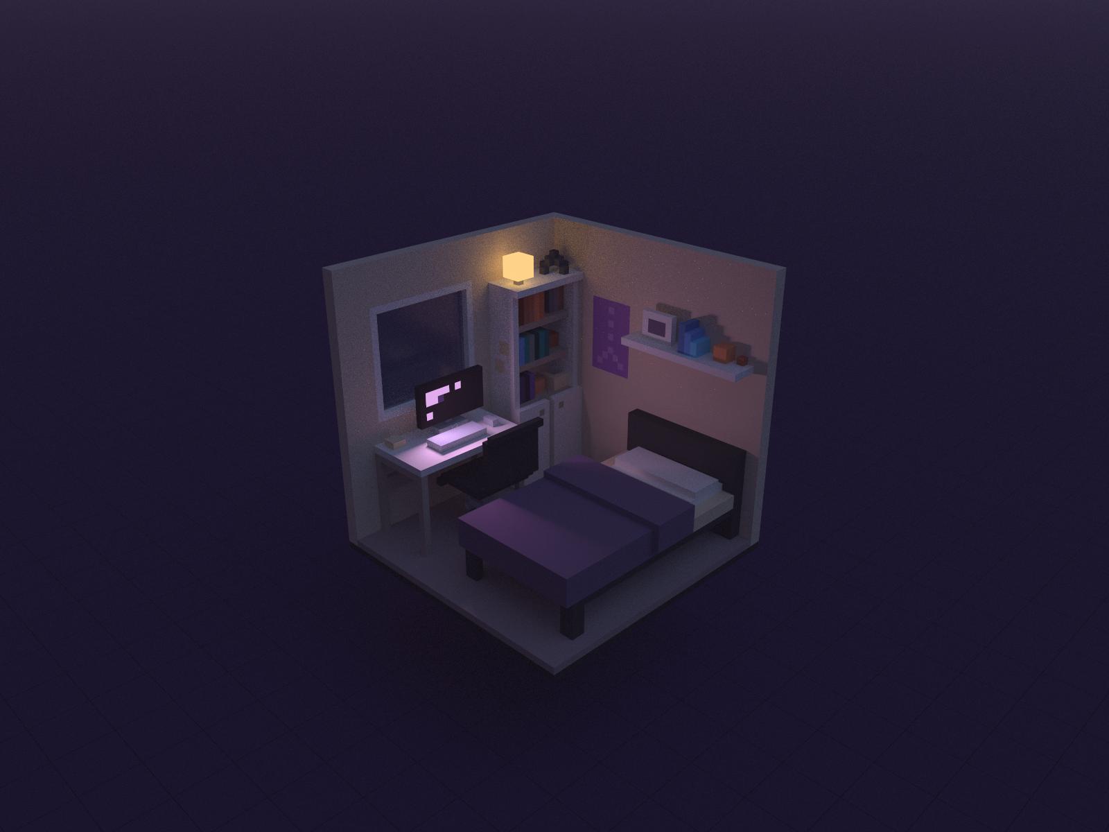 Computer bed room2