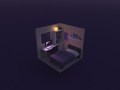 Computer Bed Room