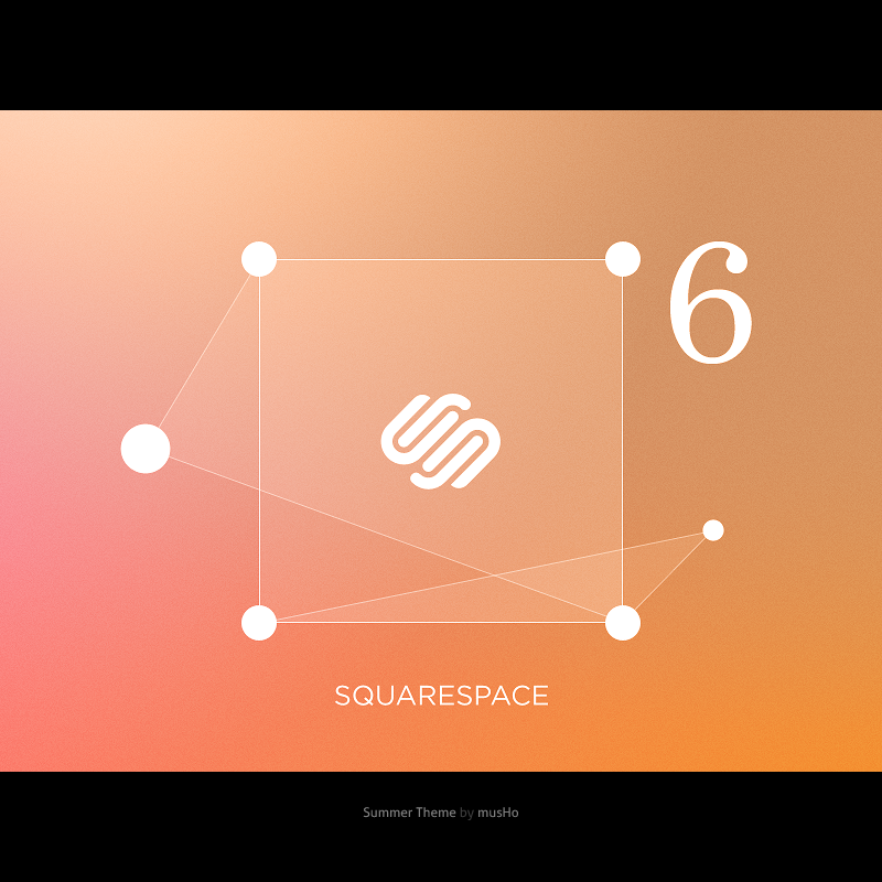 Squarespace6 summer theme
