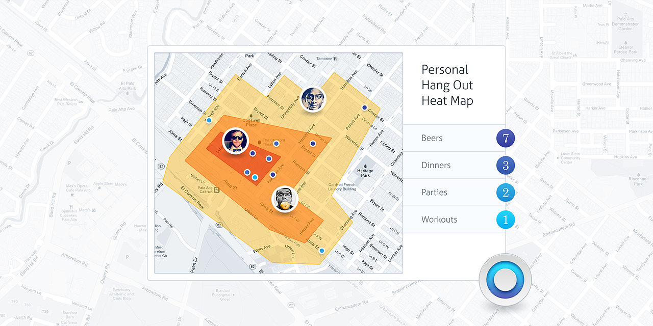 Circle heatmap hq