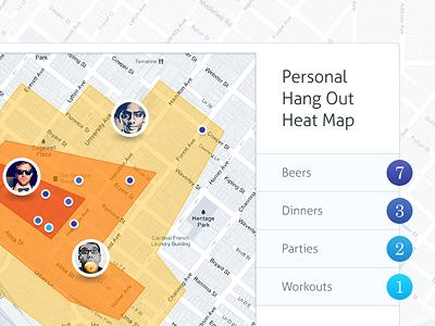 Circle heatmap