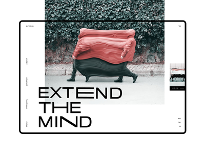 Surreal Stretched #1 extend slider mondrianizm colorfull design ui