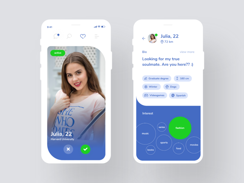 Dating app #1 datingapp ux uidesign ui app dating application dating app