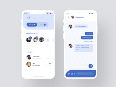 Dating app #3 application uxdesign uidesign uid ux app dating app
