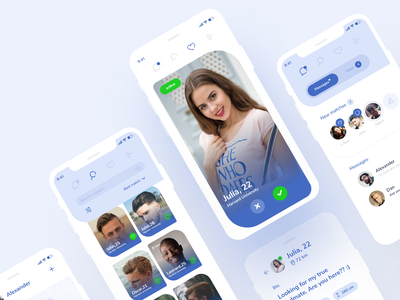 Dating app #4 colorfull design ui application app design uxdesign uidesign uxui ux app dating app