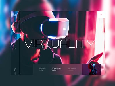 VR #1 virtual reality reality vr mondrianizm colorfull design uidesign ui