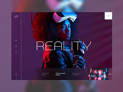 VR #2 colorfull design uidesign ui mondrianizm vr reality virtual reality