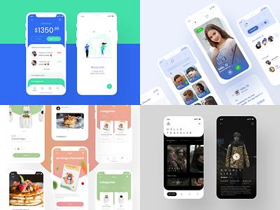 Best apps of 2020 app design application colorfull uxdesign ux uidesign ui app