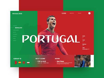 Russia World Cup - Portugal (Group B) ronaldo copa mundial futbol 2018 soccer slider portugal cup world russia