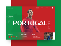 Russia World Cup - Portugal (Group B)