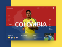 Russia World Cup - Colombia (Group H)