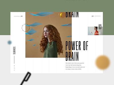 Telekinesis #2 ui uidesign ux design mondrianizm colorfull uxdesign slider