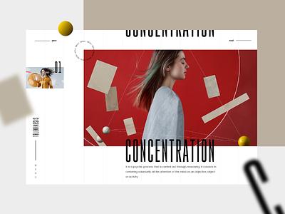 Telekinesis #3 slider mondrianizm colorfull design uxdesign uidesign ux ui