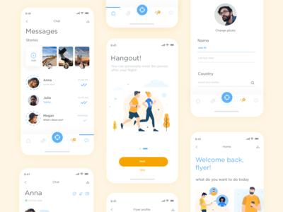 Flight & chat app #3