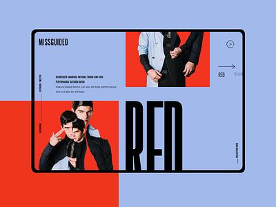 Trend #1 large font font mondrianizm colorfull design uidesign ui