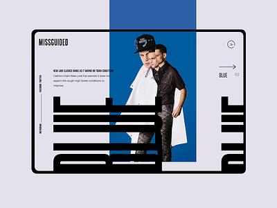 Trend #3 design mondrianizm uidesign ui large font large colorfull color