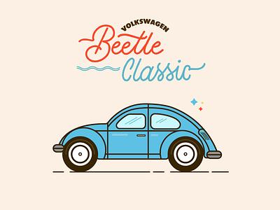 TypoBeetle free monoline classic vintage colorful flat lettering typo typography toys