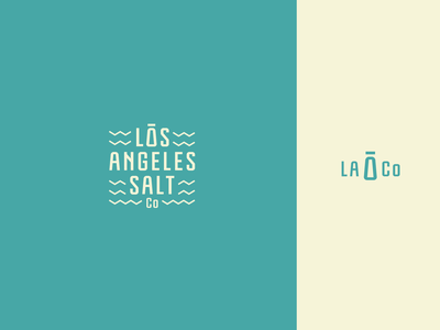 LA SALT Co Logo concept responsive resonsic food california losangeles la salt simple minimal identity branding logo