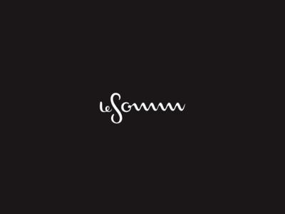 LeSomm cork opener cork wine cork food lettering calligraphy typogaphy wordmark logo branding drink local wine opener sommelier vino drink wine