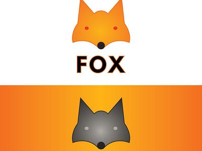 Fox logo design fox illustration fox logo design fox logo fox flat clean graphic design designer app icon vector logo design minimal