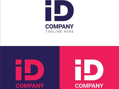 ID letter logo letter logo identitydesign id letter logo id letter app vector logo icon flat design minimal clean