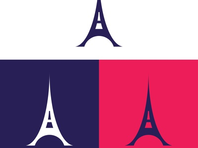A + Eiffel Tower logo design icon abstract a letter logo design tower logo a logo a logo design a letter logo a letter