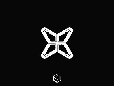 X letter logo technical technology tech logo techno tech x letter logo x letter x logo x branding app designer vector icon logo flat minimal clean design