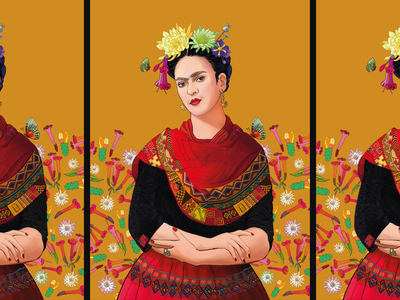 Peruvian Infused Frida Kahlo feminine feminist feminism fridakahlo frida kahlo mexican mexico culture peru peruvian illustration digital art
