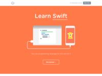 Swift landing page