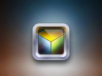 Cube iPad app icon