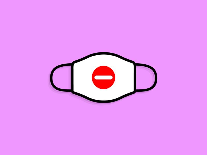 Design For Good Face Mask: Do Not Enter